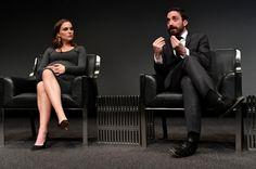 Natalie Portman and Pablo Larrain at JACKIE Washington, D.C. premiere. on December 1, 2016.  Photo courtesy of Fox Searchlight.