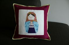 Matryoshka Doll Pillow @kisakayesmith thought of you!! ;)