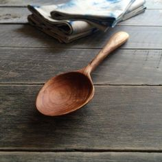 """93 Likes, 5 Comments - mika c. (@fogwoods) on Instagram: """"Freshly oiled cherry spoon✨ = Sold = 。 。 。 。…"""""""