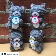 #Repost from @quirkbooks.  The Hunt for Quirk E. Cat begins at @TheBookCon! Visit link in profile for more info on our epic scavenger hunt with @outofprint @owlcrate and @charlesbridgepublishing! (#amigurumi made by @geekyhooker)  #thebookcon #bea16 #bookstagram #books #cats #crochet #cute by thebookcon