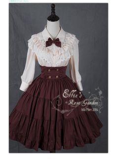 Ista Mori - Effie's Rose Garden Skirt