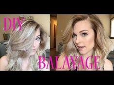 Using Ponytails to Create the Perfect Balayage - YouTube