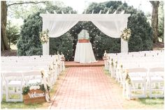 Wedding Ceremony in the Boxwood Gardens at The Inn at Willow Grove Inexpensive Wedding Invitations, Wedding Invitation Envelopes, Wedding Programs, Wedding Ceremony, Our Wedding, Wedding Rings, Boxwood Garden, Willow Grove, Wedding Insurance
