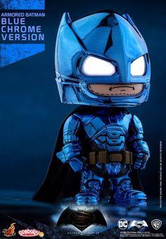 Hot Toys - COSB291 - Batman v Superman: Dawn of Justice - Armored Batman (Blue…