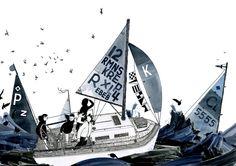 O mundo de Henry McCausland Heart Art, Urban Decay, Sailing Ships, Illustration Art, Illustrations, Sailor, How To Draw Hands, Artwork, Artist