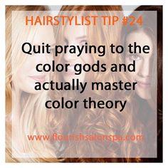 Hairstylist Tip #24