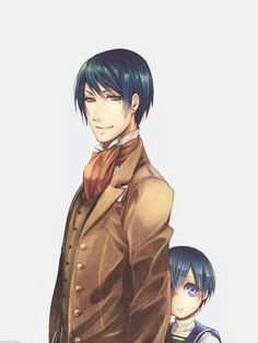 Vincent and Ciel Phantomhive - Father and Son