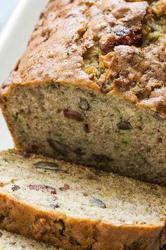 This Low Carb Keto Zucchini Bread is sweet, moist, and only has 3 net carbs per slice! If you're missing bread on your ketogenic diet, you need to try this recipe. #lowcarb #keto #diet #zucchinibread  #zucchinibread #zucchinibreadrecipe #zucchinibreadfordays #zucchinibreadday #zucchinibreadmuffins #zucchinibreadsticks #zucchinibreadrecipes #zucchinibreadcomingsoon #zucchinibreadpancakes #zucchinibreadanyone #zucchinibreads #zucchinibreadtime #zucchinibreadforeveryone #zucchinibread❤️ Zucchini Bread Muffins, Zuchinni Bread, Zucchini Bread Recipes, Dessert Cake Recipes, Dessert Ideas, Cake Ideas, Desserts, Home Recipes, Baking Recipes