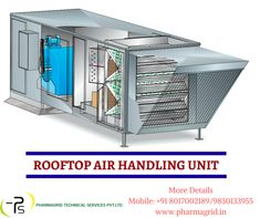 Air Handling Unit collect and blend outdoor air with the air returning from inside the space where they are installed and then cooled or heated and supplied in measured quantities inside the space Contact: +91 8017002189 | 9051322674