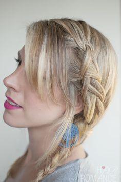Hair Romance - 30 braids 30 days - 8 - dutch braided pigtails