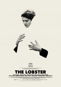 """The Lobster"" poster... for once a movie poster is great !"