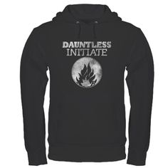 Dauntless Initiate Dark Hoodie too bad we didn't have these to wear for the pre show @sara santillanes