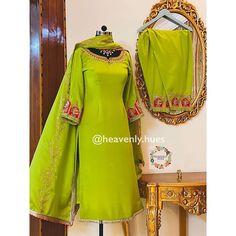 Salwar Suit Neck Designs, Neck Designs For Suits, Kurta Designs Women, Bridal Suits Punjabi, Bridal Anarkali Suits, Embroidery Suits Punjabi, Kurti Embroidery Design, Indian Dresses Traditional, Traditional Outfits