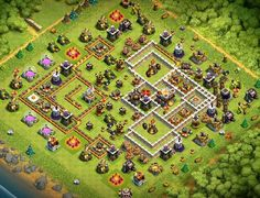 Best Trophy Base Links These Layout Links are Good at Protecting **Trophies** in Multiplayer Battles and Stars in War Base Designs. Clash Of Clans Levels, Clash Of Clans App, Dragon Clash Of Clans, Clsh Of Clans, Supercell Clash Of Clans, Fun To Be One, Are You The One, Trophy Base, Clan Games