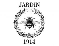 Jardin Printable Grain Sack - The Graphics Fairy
