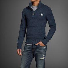 Mens Giant Mountain Sweater | Abercrombie.com