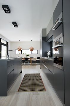Is To Me | Interior inspiration | Black kitchen