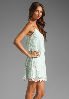DOLCE VITA Jeralyn Dress in Mint at Revolve Clothing