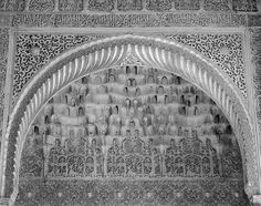 Detail of Plasterwork No. 2, the Alhambra, 2016. nigrumetalbum.com instagram.com/sashleyphotos