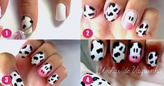 Kitty Nail Art