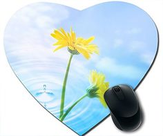 Summer Comfortable Mouse Pad Heart Shaped Printed 2 Flowers Mouse Pad http://www.amazon.com/dp/B00MJO8NF4/ref=cm_sw_r_pi_dp_CtA5tb0AWSZG4