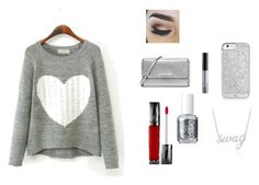 """""""Untitled #11"""" by gety-ahtisham-khan on Polyvore featuring MICHAEL Michael Kors, NYX, Urban Decay, Essie and Belk & Co."""
