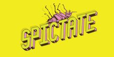 Spictate lettering typeby Miguel Ibarra