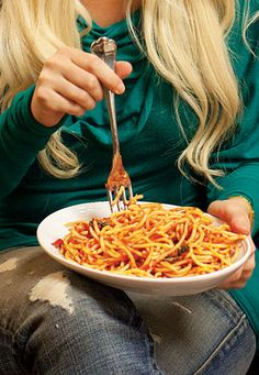 Lotsa Pasta: This recipe for the classic Spaghetti Marinara is adapted from the version served at Rao's in Las Vegas, one of Holly Madison's favorite dinners before going onstage.