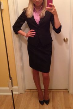 An outfit I wear to business meetings! Mostly from express!
