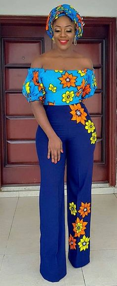- Source by efuastyle - African Fashion Ankara, Latest African Fashion Dresses, African Print Fashion, Africa Fashion, Modern African Fashion, African Attire, African Wear, African Print Jumpsuit, Short African Dresses