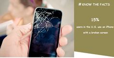 Know the facts of iPhone users in the U. use an iPhone with a broken screen Corporate Quotes, Broken Screen, Facts, Phone Cases, Popular, Iphone, Creative, Most Popular, Truths