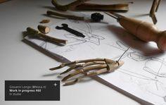 Wip n.60 / #FragileSkeletons... https://www.facebook.com/giovannilongo.art / arte art scultura sculpture wood driftwood