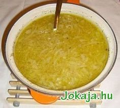 hagymaleves1 Food Combining Diet, Onion Soup, Best Appetizers, Unsalted Butter, Cornbread, Main Dishes, Curry, Neutral, Keto