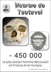 Homme de Tautavel, plus ancien homme découvert en Europe