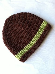 Brown Crochet Baby Hat Newborn Hat Baby Boy by LakeviewCottageKids, $18.00