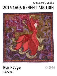 """Dancer"" - art quilt by Ron Hodge"
