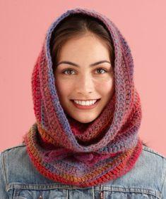 Cozy Cowl Hood crochet pattern