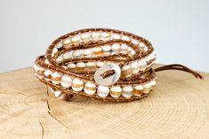 "Armband ""Gipsy"" Fair Trade, Wedding Rings, Engagement Rings, Jewelry, Fashion, Rhinestones, Beads, Wristlets, Wrap Around"