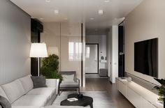 Interior visualization of 92 sq.m. on Behance