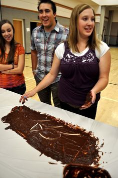 Pudding Pictionary - fun youth or young adult activity
