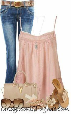 A fashion look from April 2013 featuring Topshop tops, Yves Saint Laurent handbags and Wet Seal bracelets. Browse and shop related looks. Mode Outfits, Casual Outfits, Fashion Outfits, Womens Fashion, Fashion Trends, Casual Jeans, Cute Fashion, Look Fashion, Spring Summer Fashion