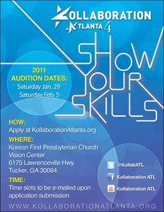Kollaboration Atlanta 4 Auditions
