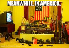 Mens Womens Humor : Meanwhile In America, some people are ready for th...