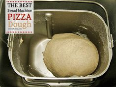The Best Bread Machine Pizza DoughYou can find Bread machine recipes and more on our website.The Best Bread Machine Pizza Dough Best Pizza Dough Recipe Bread Machine, Pizza Dough Bread Machine, Pizza Dough Recipe Quick, Best Bread Machine, Bread Maker Recipes, Pizza Recipes, Quick Pizza, Dough Machine, Bread Pizza
