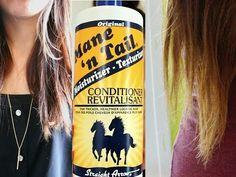 horse shampoo/Shampoo de caballos / mi experiencia personal - YouTube