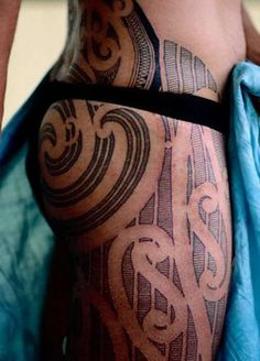 Maori Tattoo. Pain is merely a barrier! All of it is worth it, this is amazing