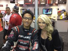 """""""I'm at KW Suspensions booth right now! Please stop by and say hi, if you are at SEMA show.""""    November 3, 2011 via mobile"""