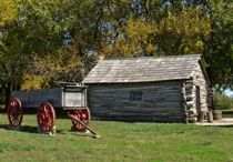 Little House on the Prairie Museum in Independence, Kansas.