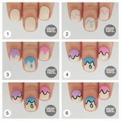 One Nail To Rule Them All: Tutorial Tuesday: Drips #nail #nails #nailart