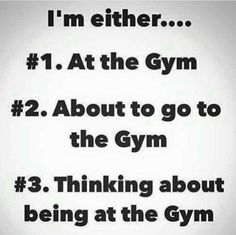 Yep! This is pretty much my life right now! Please visit Gymterest.com for more!